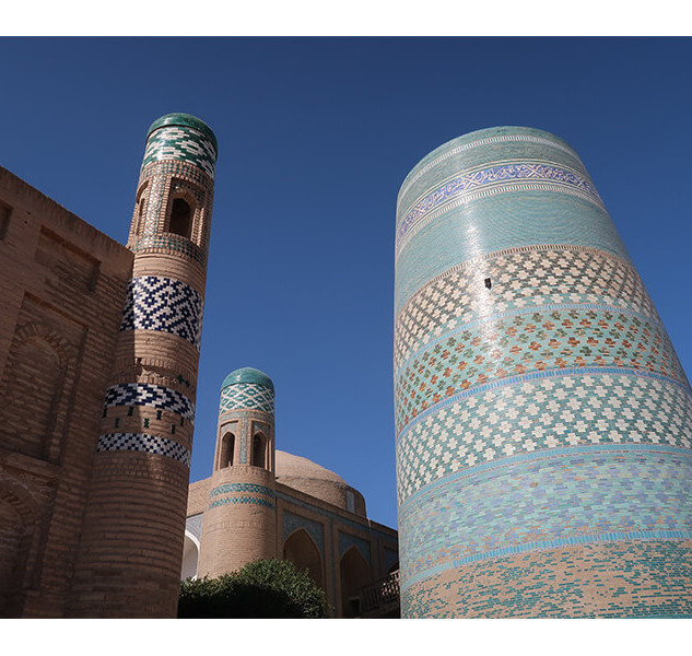 The Spherical Minarets of Central Asia