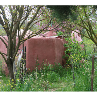 A Pink Cob House