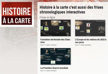 Histoire à la carte et atlas-historique.net