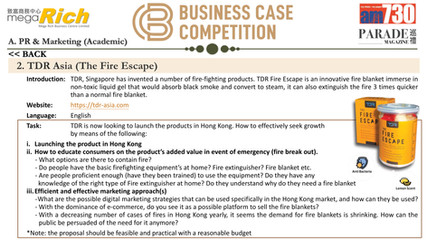 Business Case Competition 2020-2021 R-25
