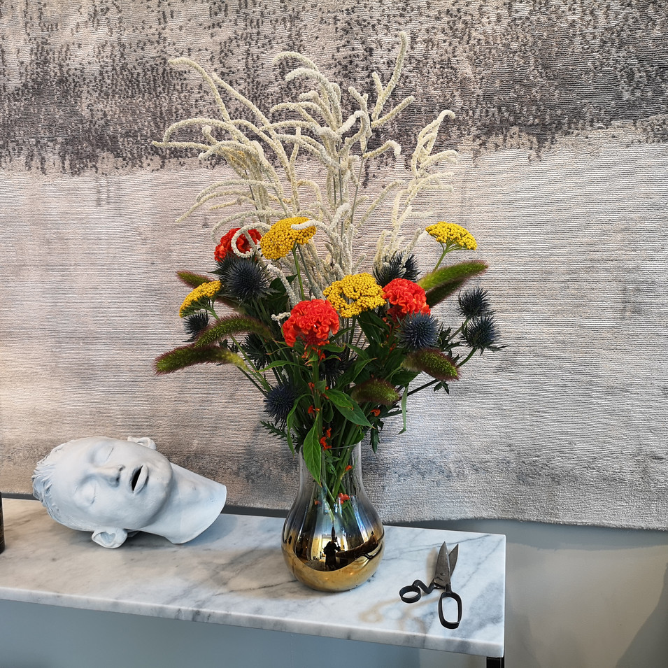 Floristry for Riviere Rugs in Fulham