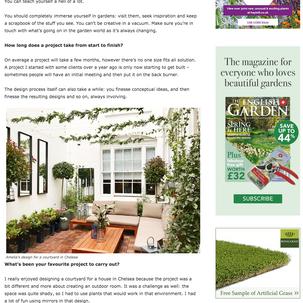 The English Garden 2019