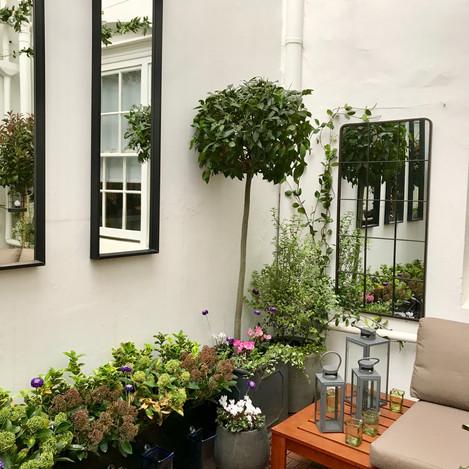 Chelsea courtyard garden design