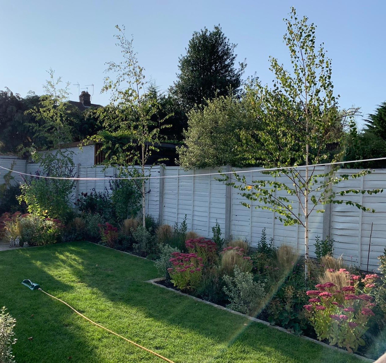 Family garden in Chingford