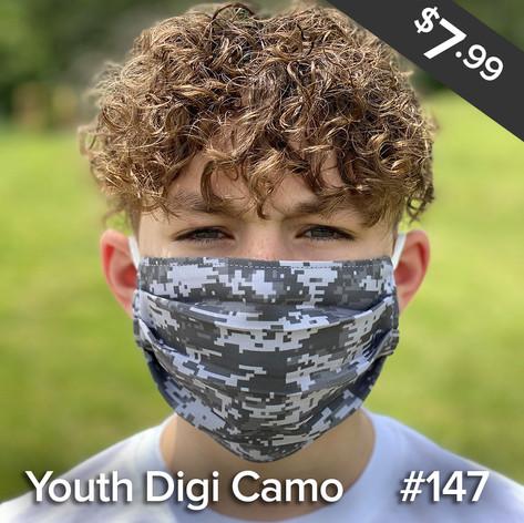 Youth Digi Camo Mask