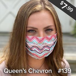 Queen's Chevron Mask