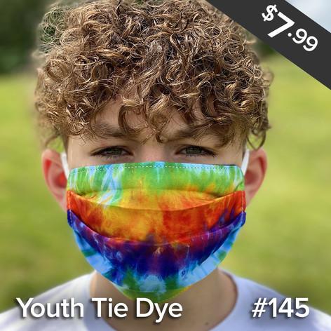 Youth Tie Dye Mask
