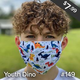 Youth Dino Mask