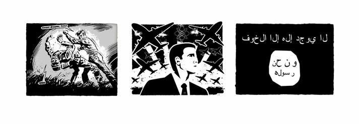 False Flag Operation Triptych