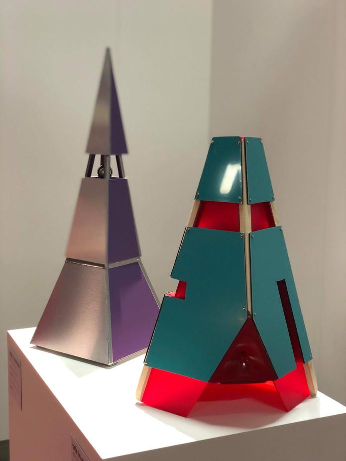 Atmans II & III maquettes