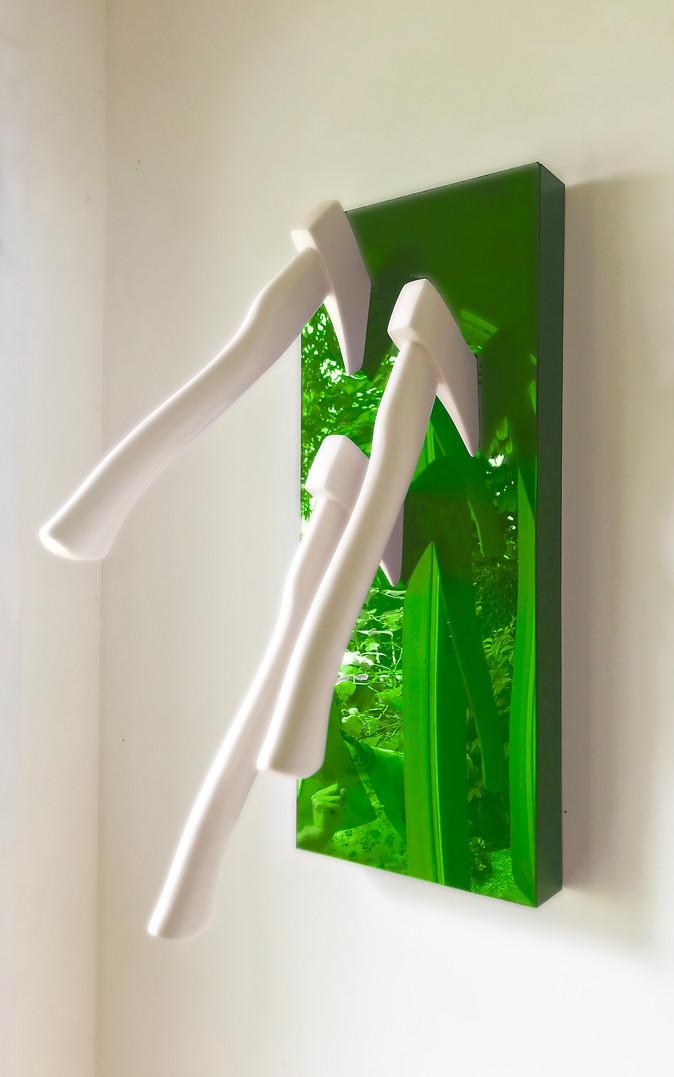 Three Axes - Green