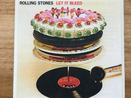 Rolling Stones Let It Bleed Coaster