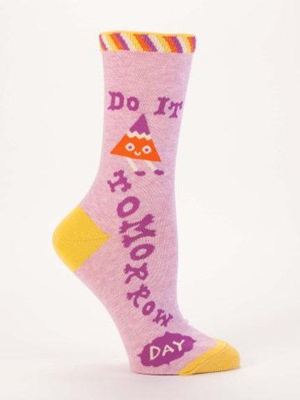 Do It Tomorrow Sock