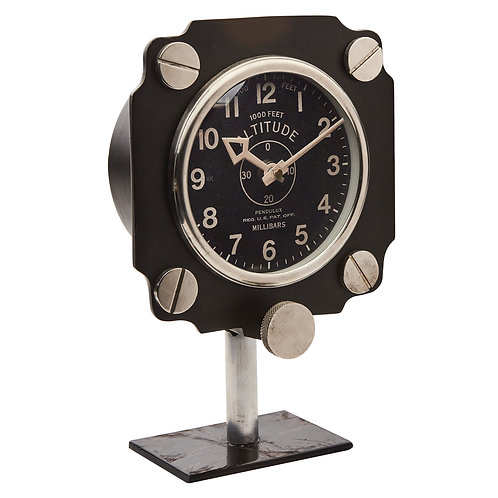 Altimeter Mantel Clock