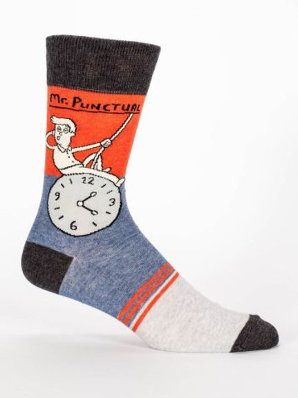 Mr. Punctual Men's Sock