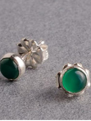 Green onyx silver stud earrings.jpg