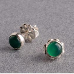 Green onyx silver stud earrings.jpg