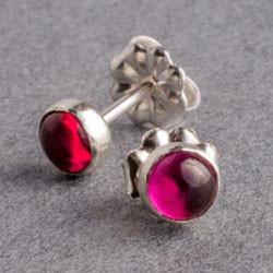 Ruby silver dot stud earrings.jpg