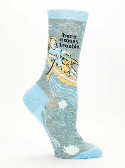 Here Comes Trouble Sock