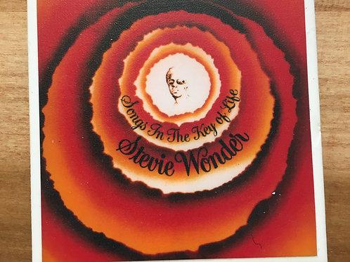 Stevie Wonder Songs in the Key of Life Coaster
