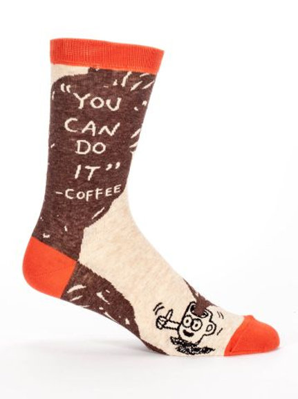 You Can Do It Men's Sock