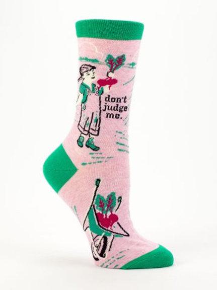 Don't Judge Me Sock