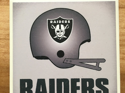 Raiders Coaster