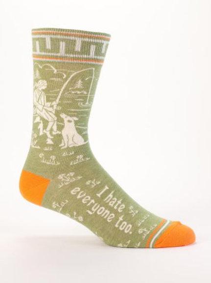 I Hate Everyone, Too Men's Sock