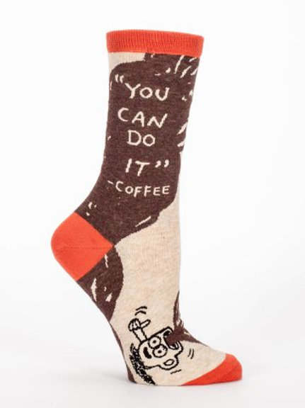 """You can do it."" - Coffee Sock"