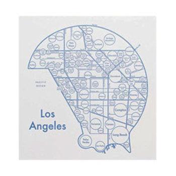 Las Vegas Map Print