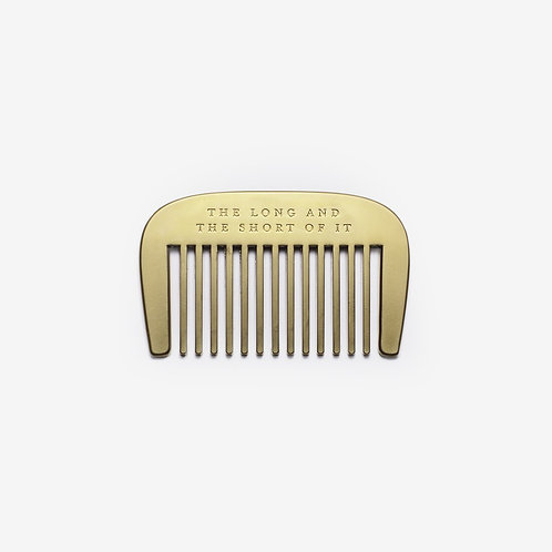 The Long and the Short of It Beard Comb