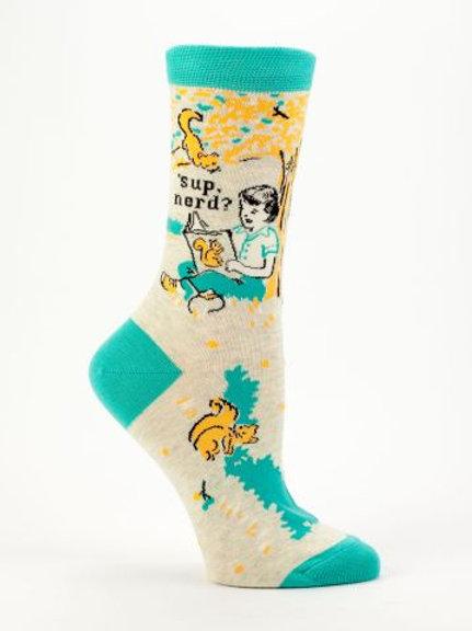 Sup Nerd Sock