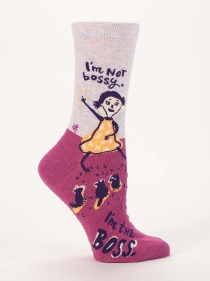 I'm Not Bossy Sock