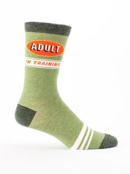 Adult In Training Men's Sock