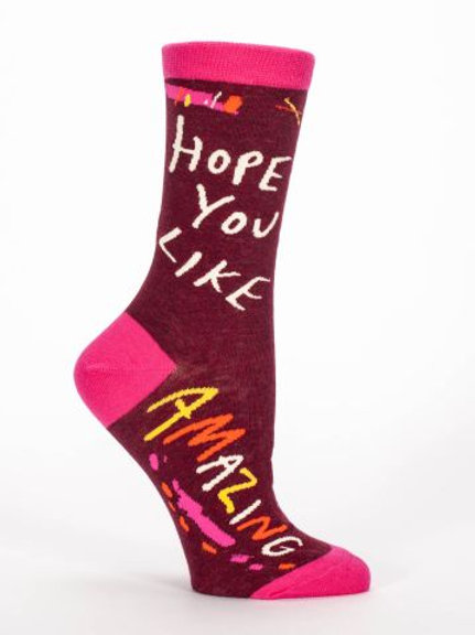 Hope You Like Amazing Sock