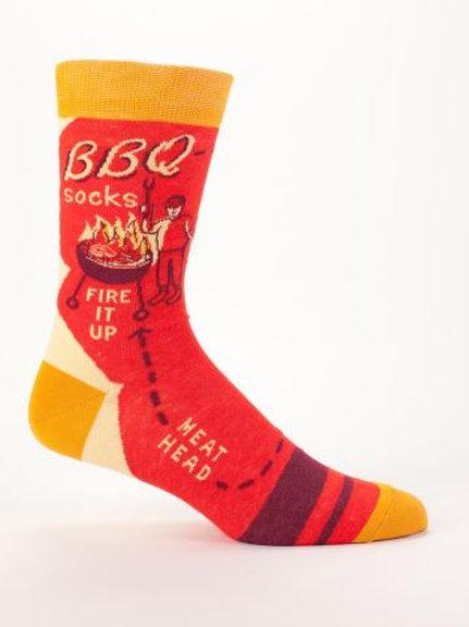 BBQ Men's Sock