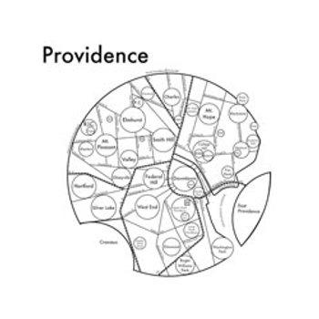 Providence Map Print