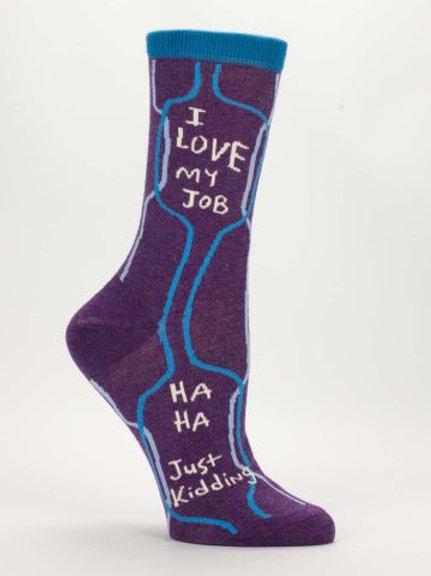 Love My Job...JK Sock