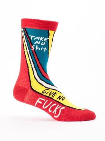 Take No Crap Men's Sock