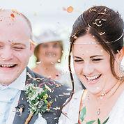 bride and groom handfasting wedding