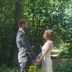 Charlotte & Craig   Forest Wedding   Shovelstrode Forest Gardens, Sussex