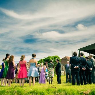 Susie & Tom | DIY Wedding Ceremony | Court Gardens Farm, Sussex