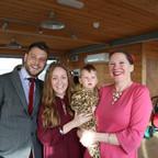 Charlotte, Craig & Reuben   Naming Ceremony   Yellow Wave Cafe, Brighton