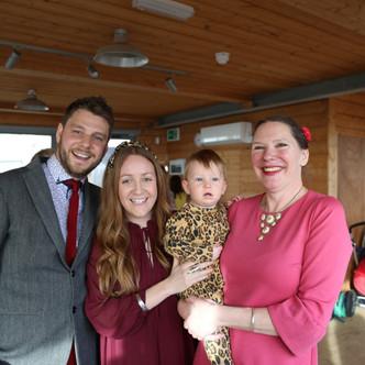 Charlotte, Craig & Reuben | Naming Ceremony | Yellow Wave Cafe, Brighton