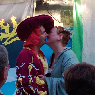 Sandra & Vincent | Medieval Wedding | Brighton, Sussex