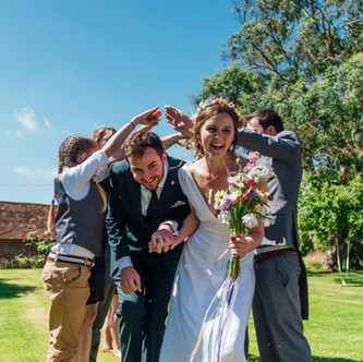 Liz & Luc | Wedding Ceremony | The Secret Barn, Sussex