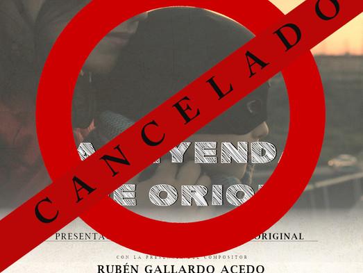 CANCELADO - Presentación Banda Sonora La Leyenda de Oriol
