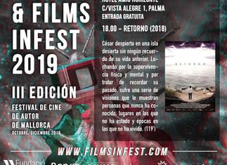 Retorno, proyección en el Fims InFest 2019