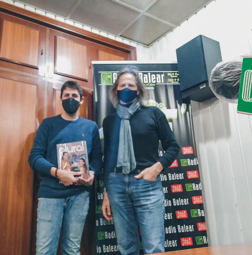 Fernando López Hinojosa junto con Rubén Gallardo