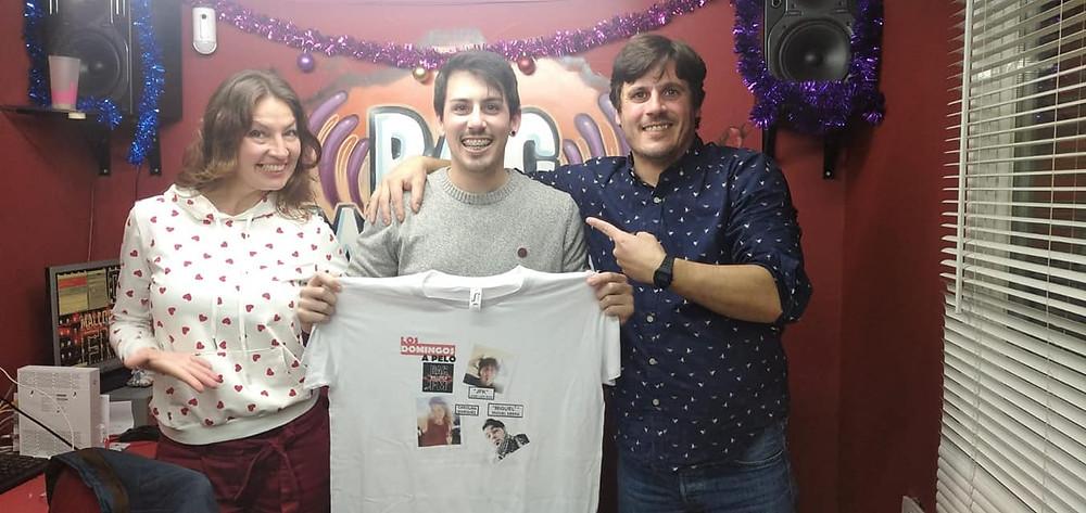 Carolina Márquez, Rubén Gallardo y José Luis Ruiz
